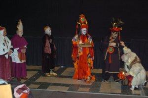 Carnevale 2006 - Maschere all'interno del Teatro Piccolo Arsenale